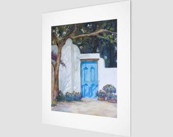 Art Print - Blue Door