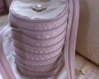 Zipper bucket bag zipmania