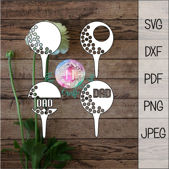 Download Golf ball SVG cutting file / silhouette studio and cricut golf