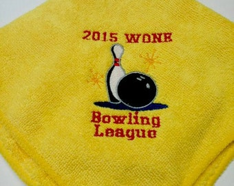 Bowling Towels Customized Personalized