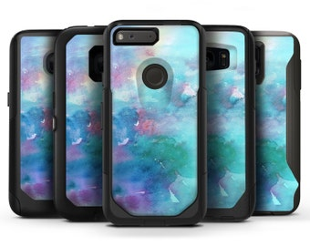 Bright Absorbed Watercolor Texture - OtterBox Case Skin-Kit for the iPhone, Galaxy & More