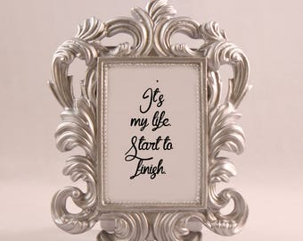 The Walking Dead - Walking Dead Art - Walking Dead Gift - Walking Dead Collectible - Walking Dead Decor - Walking Dead Quote