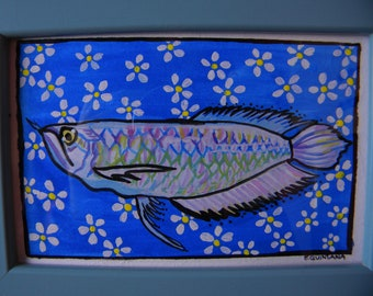 Original Fish Painting
