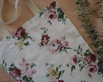Cotton Reusable Bag - Rose