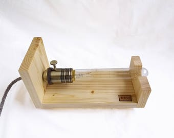 Ambient lamp with Edison bulb
