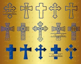 60% OFF, 15 Cross SVG Christian Cross Mandala svg Zentangle Png Eps Dxf Vinyl Cut File Silhouette Split Monogram Decal Bundle Download shirt