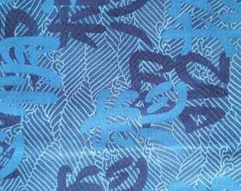 Oriental Cotton print by Kona Bay fabric  (yardage Available)