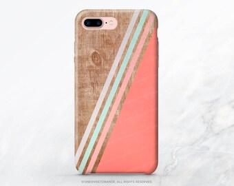 iPhone 8 Case iPhone X Case iPhone 7 Case Coral Stripes iPhone 7 Plus Case iPhone 6s Case iPhone SE Case Galaxy S7 Case Galaxy S8 Case T48