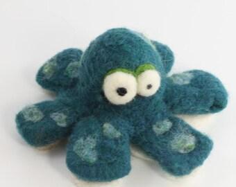 Needle felting Octopus kit