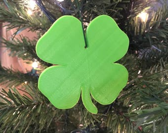 Four Leaf Clover Tree Ornament 3D-Printed