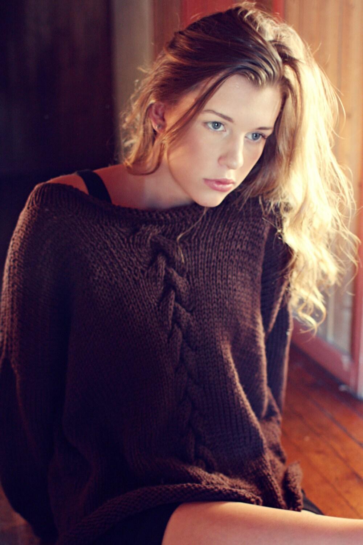 KNITTING PATTERN - Summer Night Sweater - Instant Digital Download ...