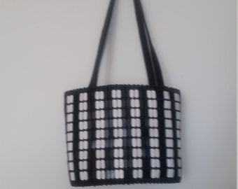 African handmade beaded purse