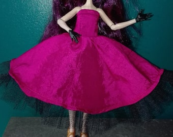 for Ever After High doll ball gown. dress for Ever After High Doll