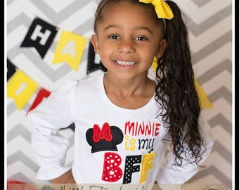 Minnie is my BFF shirt -