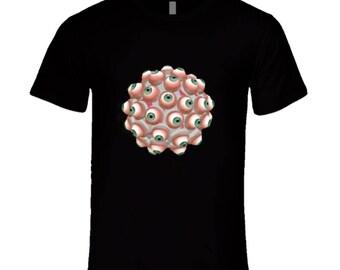Weird Eyeball Aesthetic T Shirt