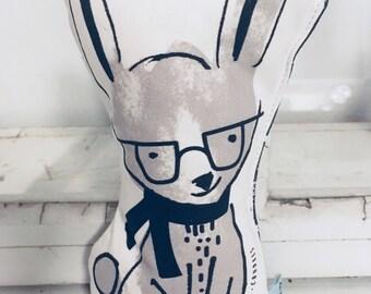 Plush rabbit!