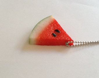 The Watermelon - Funky Shrunky Necklace