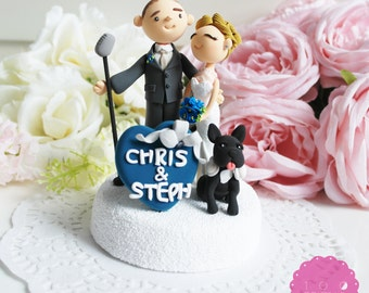 Custom Cake Topper- Jazz Theme