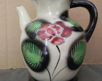 Vintage Porcelain Vase teapot Tea Pot Shaped