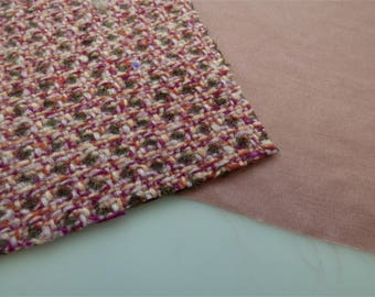 Chanel Fabric Swatch Pink