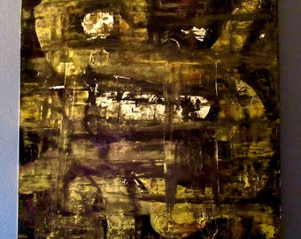 """Large Abstract Painting """"Complicated"""""""
