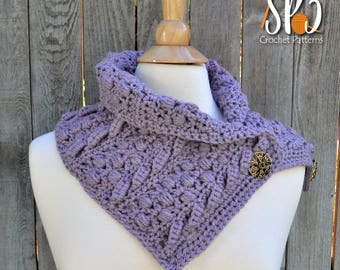 Boulder Creek Scarf Crochet Pattern