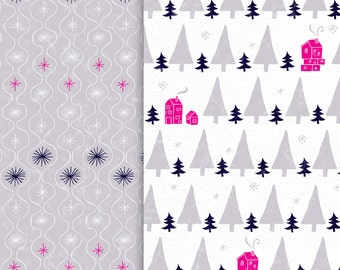 Cozy Winter Holiday Gift Wrap