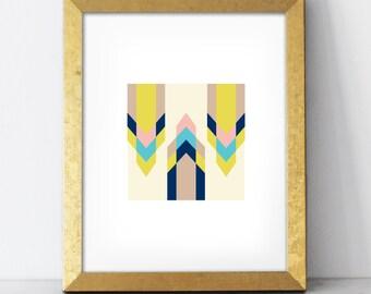 Arrows Print - 8x10 wall art