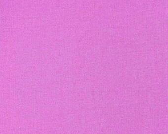 Tissu coton uni violet Lupin