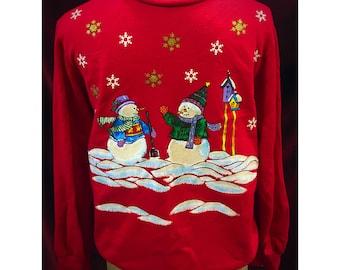 Vintage Ugly/Cute Christmas Sweatshirt