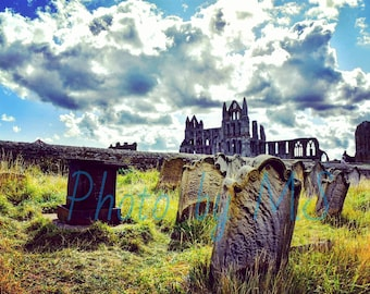 Whitby Abbey - Framed Photograph