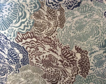 Tana lawn fabric from Liberty of London, Carolyn Jane.