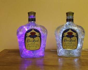 Crown Royal 100 LED Man Cave/Bar/Deco Light with 8 light patterns, Clear or Color Changing Lights