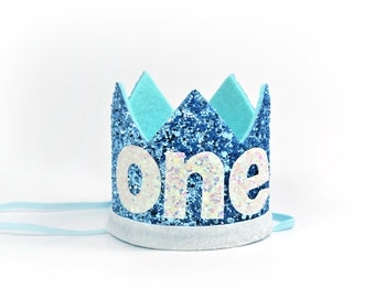 Boy Birthday Crown || First Birthday Boy Crown || 1st Birthday Boy Crown || Boy Birthday Hat || Little Blue Olive