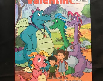 Vintage Dragon Tales Valentines Day Cards