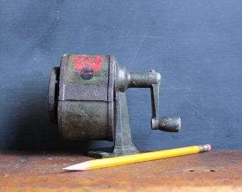 Vintage Pencil Sharpener - Apsco Giant - Manual - Mountable