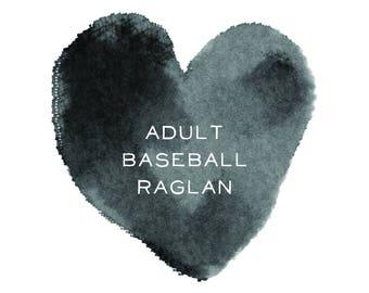 Adult Baseball Raglan