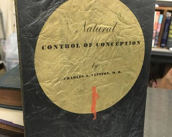 1936 birth control book (free US shipping)