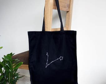 Star constellation tote bag - Constellation map - Map constellation - Star map - Gift for her - Star sign - Astrology gifts - Zodiac gift