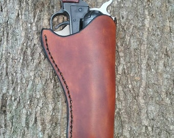 Leather holster for Rough Rider .22 revolver