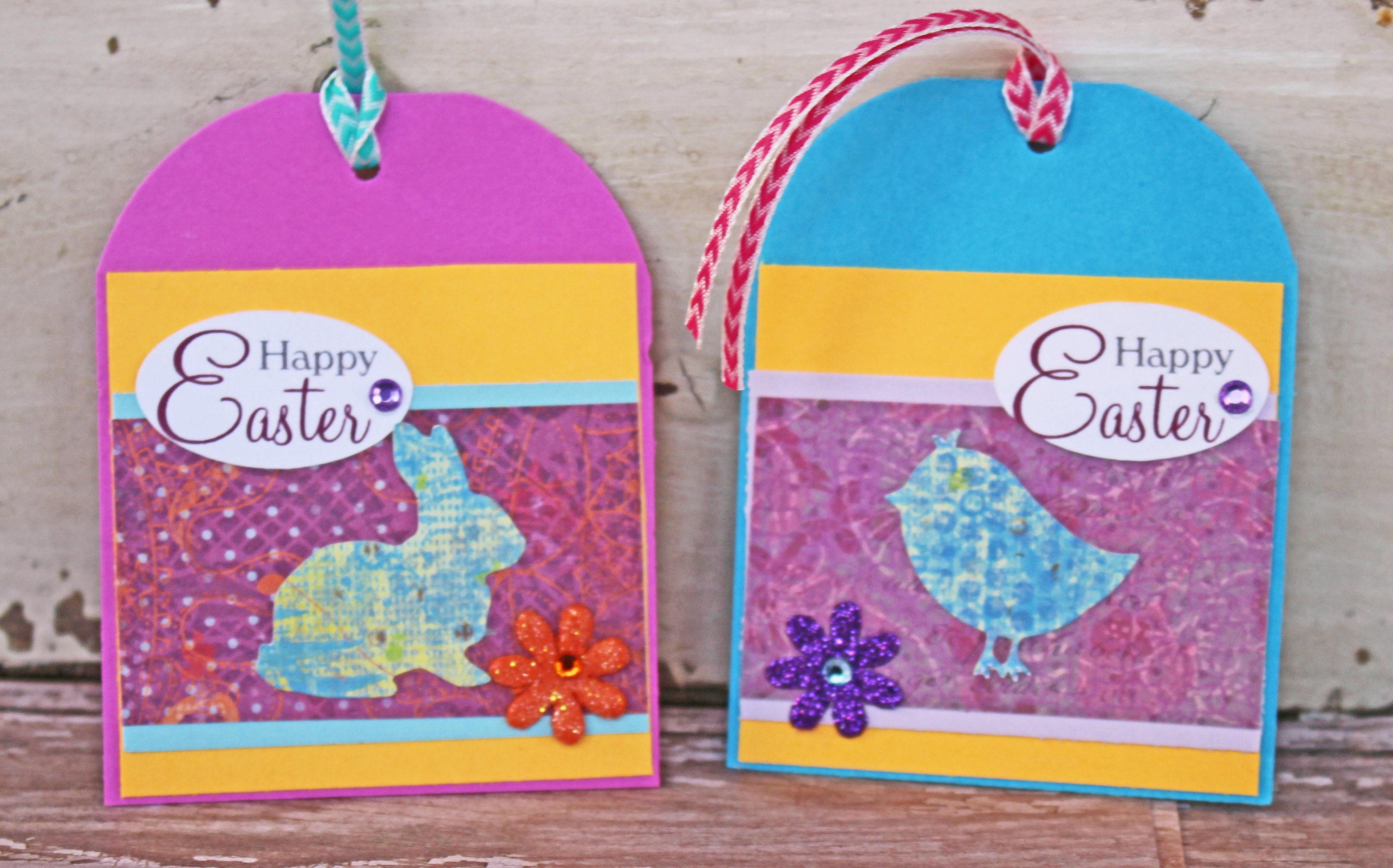 Set of 5 easter tags handmade tags easter basket tags gift tags set of 5 easter tags handmade tags easter basket tags gift tags easter egg hunt tag easter easter bunny easter chick hang gift tag negle Image collections
