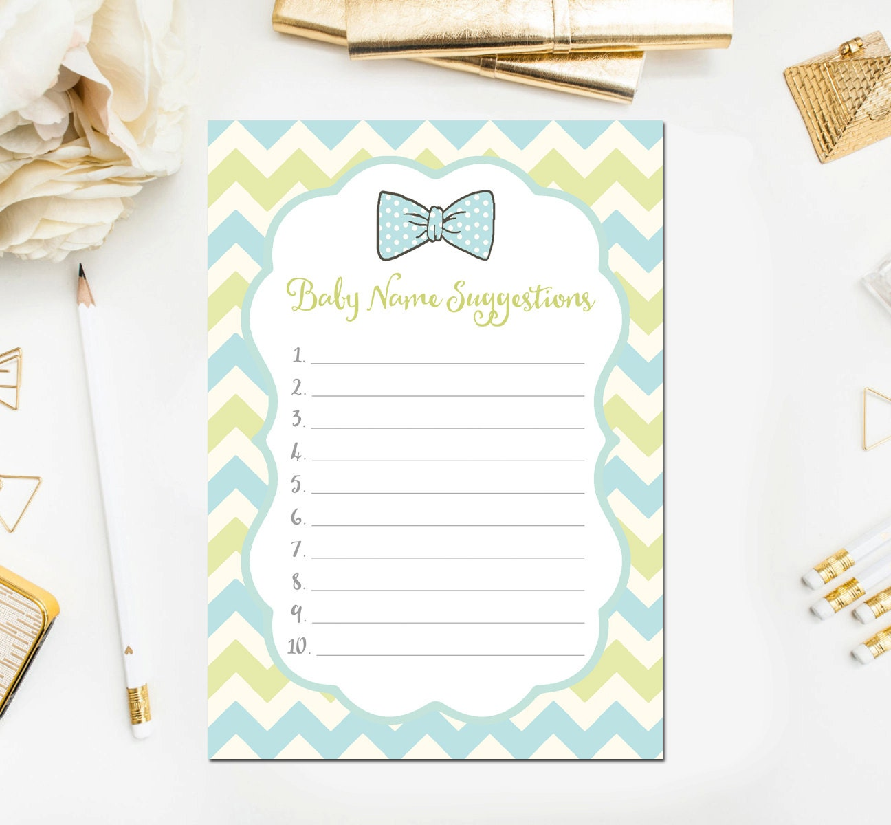 baby name suggestions baby shower game baby shower
