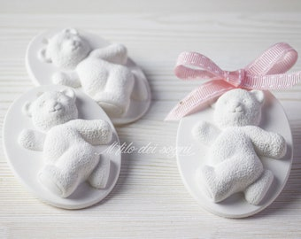 10pcs Teddy bear with Heart