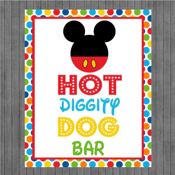Mickey Hot Diggity Dog