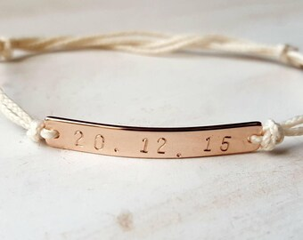 His and hers bracelet, love bracelet, personalised name bracelet, couples bracelet, choose any name/word/number. Anniversary gift.