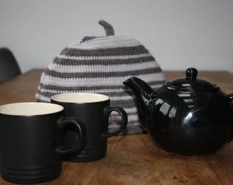 Nice Cup of Tea George -  Handmade Crocheted Tea Cosy - 100% wool