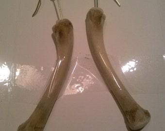 Natural Bone Earrings