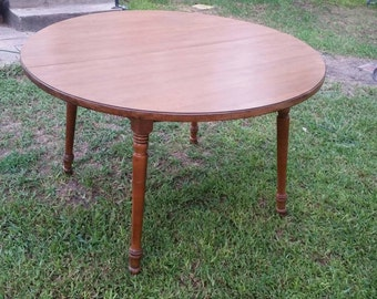 Tell City, Hard Maple Kitchen Table #8163 Andover Maple