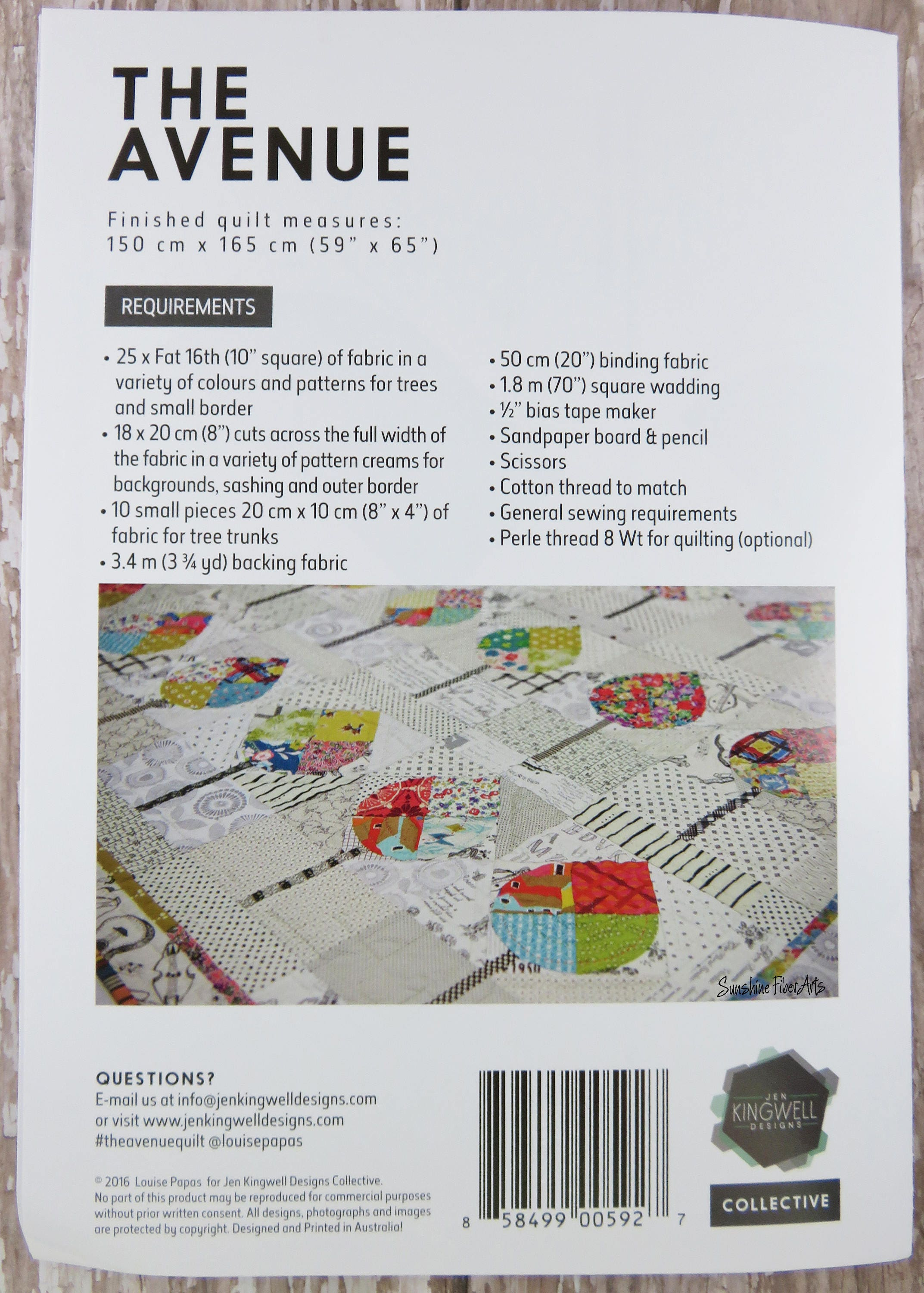 Acrylic Templates - The Avenue - Quilt Pattern Included - Louise ...