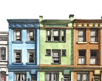 Row Houses, Washington, DC